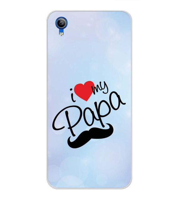 I Love My Papa Back Cover for Vivo Y91i-Image3