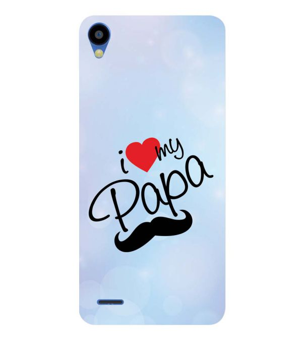 new styles 182d1 f56d9 I Love My Papa Soft Silicone Back Cover for Tecno Camon I Ace