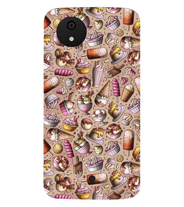 official photos 9ce03 61051 Ice Cream Overload Back Cover for Micromax Canvas A1