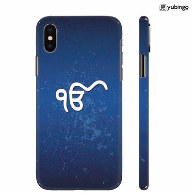 Ik Onkar Back Cover for Apple iPhone X