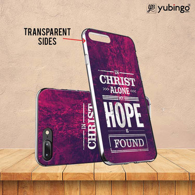 In Christ I Find Hope Soft Silicone Back Cover for Huawei Y9 (2019)-Image3
