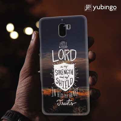 In Lord My Heart Trusts Back Cover for Coolpad Cool 1-Image2