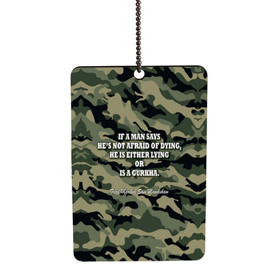 Indian Army Quote Car Hanging