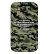 Indian Army Quote Back Cover for Samsung Galaxy Grand I9082 : Grand Neo : Grand Neo Plus