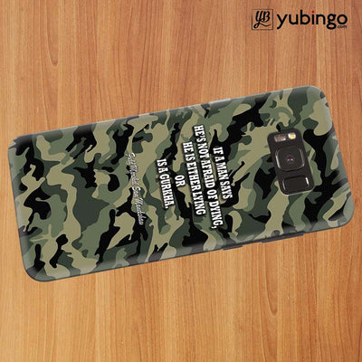 Indian Army Quote Back Cover for Samsung Galaxy S8 Plus-Image3