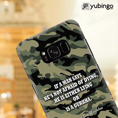Indian Army Quote Back Cover for Samsung Galaxy S8 Plus-Image4