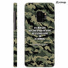 Indian Army Quote Back Cover for Samsung Galaxy S9
