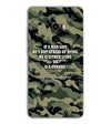 Indian Army Quote Back Cover for Xiaomi Mix 2