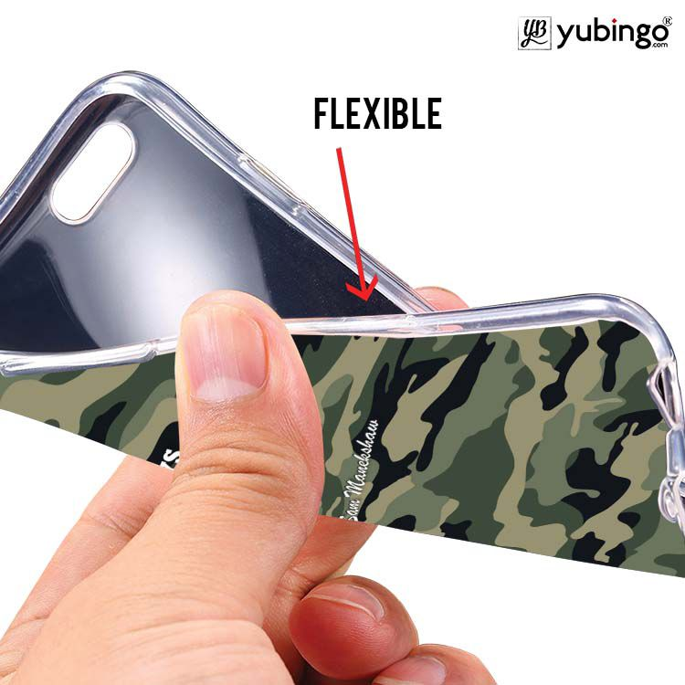 Indian Army Quote Soft Silicone Back Cover for Vivo Y66