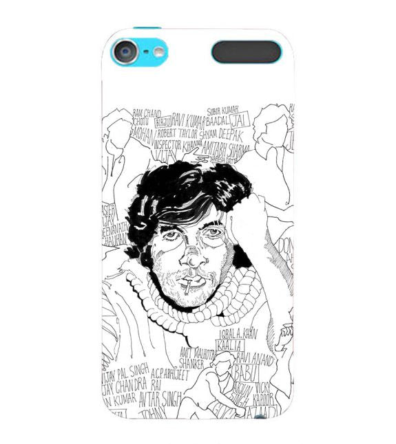 Indro's Art Big B Back Cover for Apple iPod Touch 6