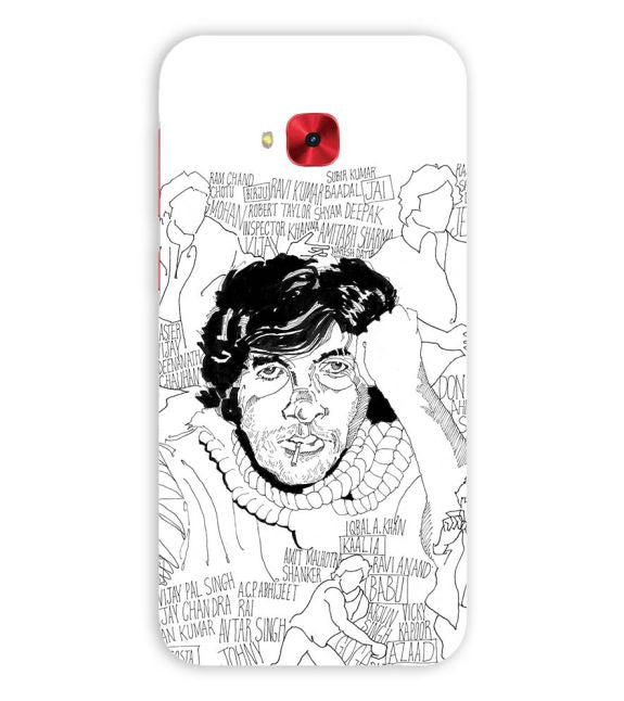 Indro's Art Big B Back Cover for Asus Zenfone 4 Selfie Pro ZD552KL