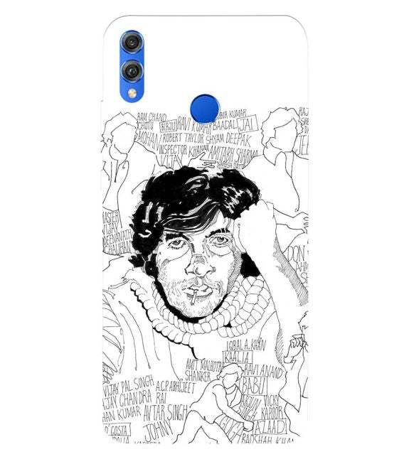 Indros Art Back Cover for Huawei Honor 8X