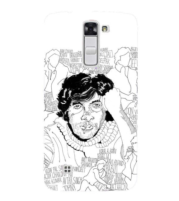 Indro's Art Big B Back Cover for LG K10