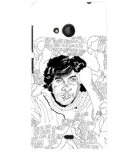 Indro's Art Big B Back Cover for Microsoft Lumia 540