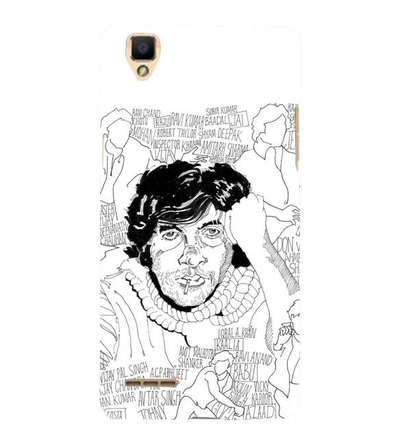 Indro's Art Big B Back Cover for Oppo F1