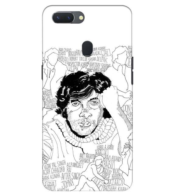 Indro's Art Big B Back Cover for Oppo Realme 2