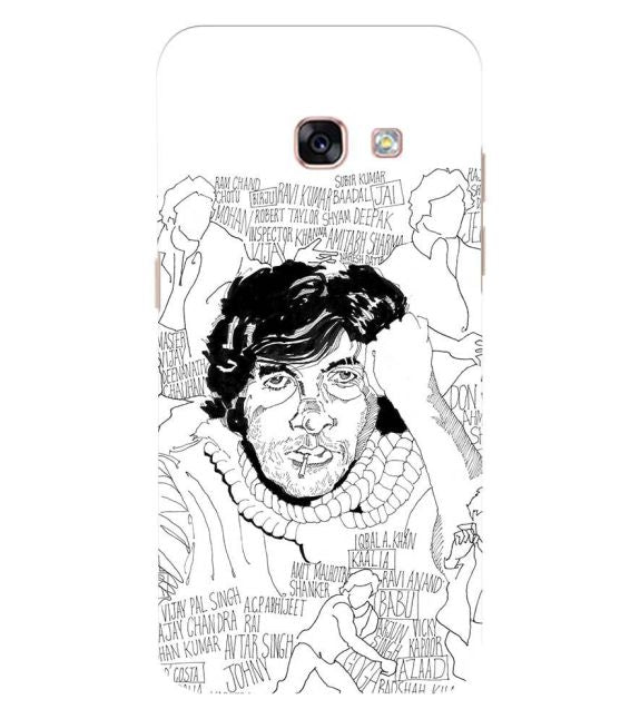 Indro's Art Big B Back Cover for Samsung Galaxy A3 (2017)