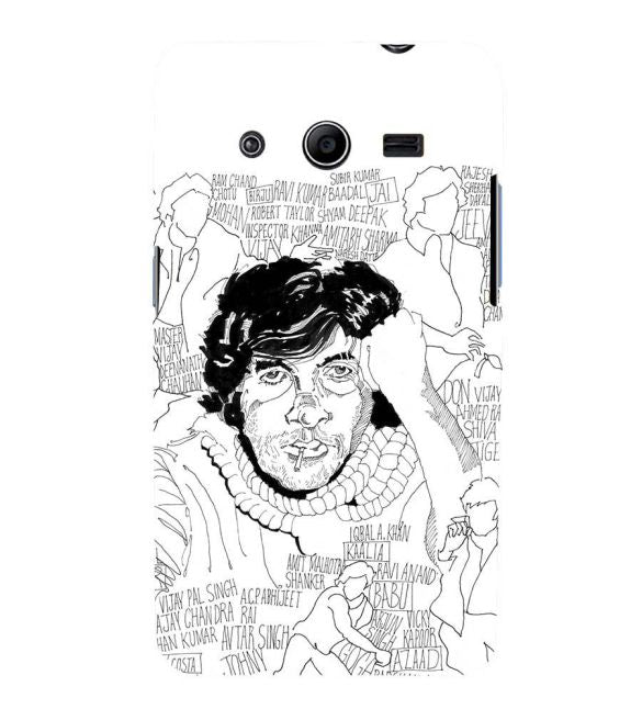 Indro's Art Big B Back Cover for Samsung Galaxy Core 2 G355H
