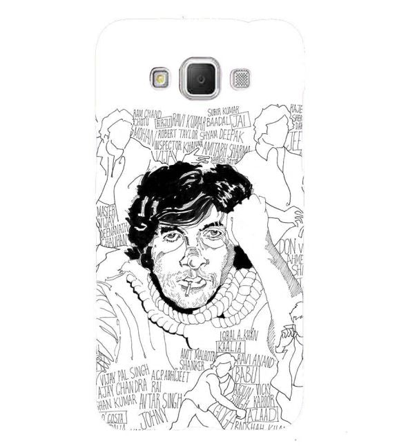 Indro's Art Big B Back Cover for Samsung Galaxy Grand Max G720