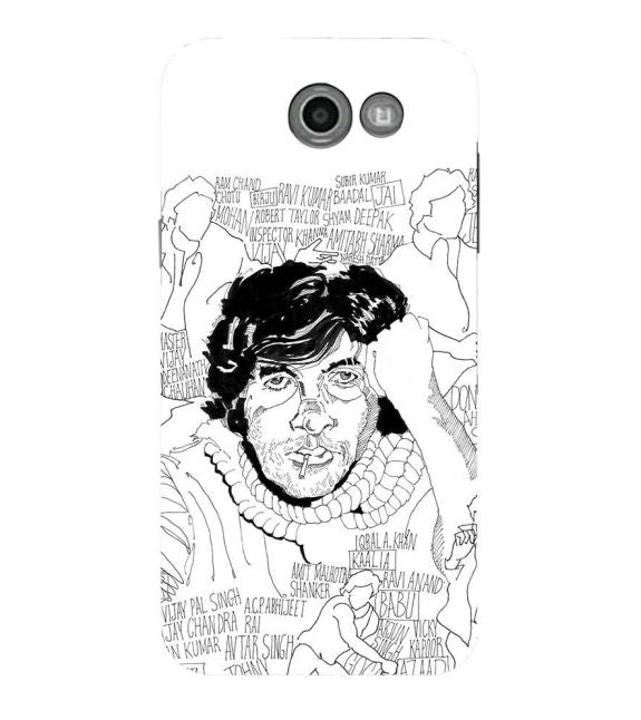 Indro's Art Big B Back Cover for Samsung Galaxy J7 (2017)
