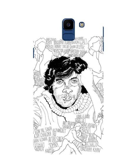 Indro's Art Big B Back Cover for Samsung Galaxy On6