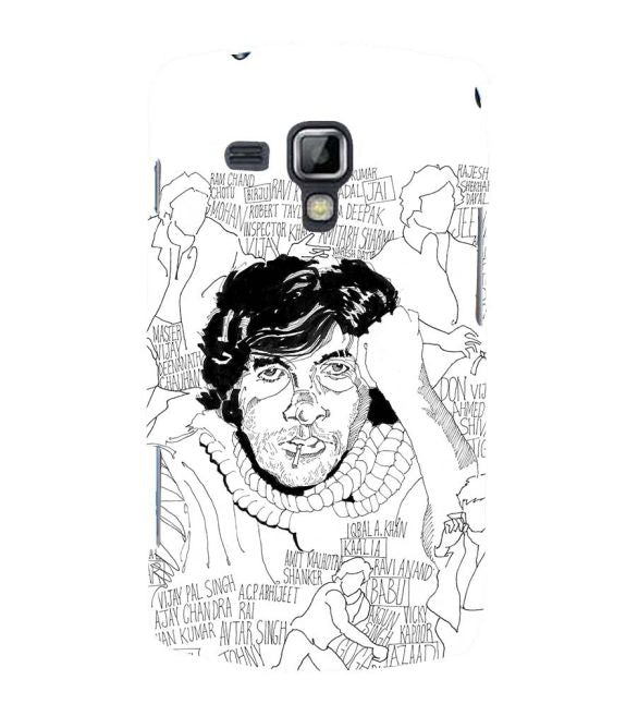 Indro's Art Big B Back Cover for Samsung Galaxy S Duos and S Duos 2