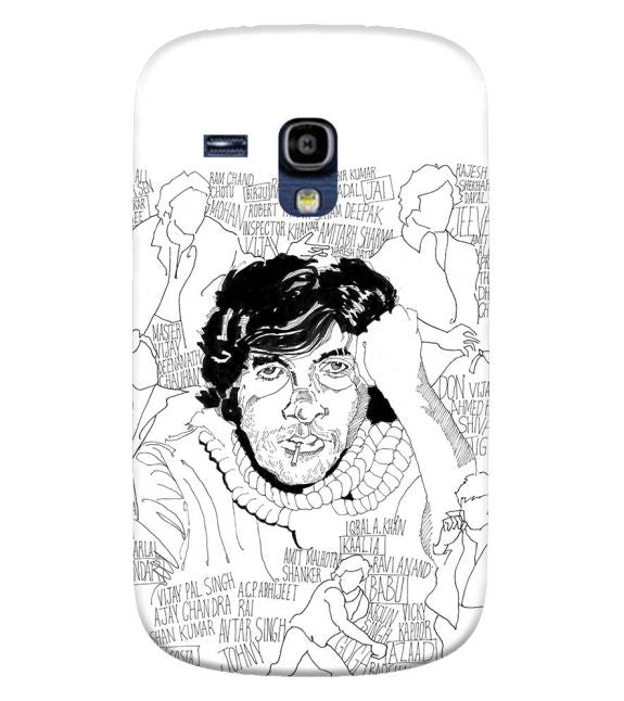 Indro's Art Big B Back Cover for Samsung Galaxy S3 Mini