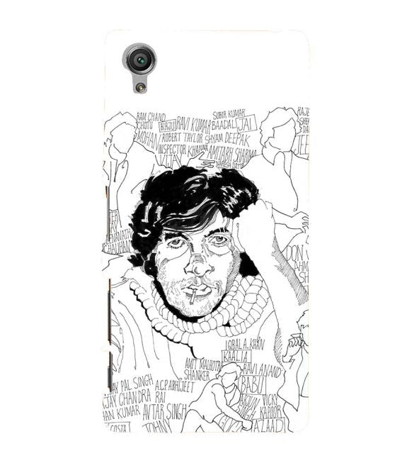Indros Art Back Cover for Sony Xperia X