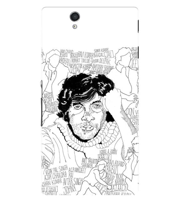 Indro's Art Big B Back Cover for Sony Xperia Z