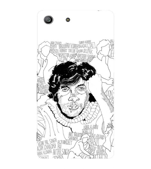 Indro's Art Big B Back Cover for Sony Xperia Z3