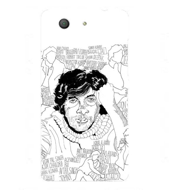 Indro's Art Big B Back Cover for Sony Xperia Z3+ and Xperia Z4