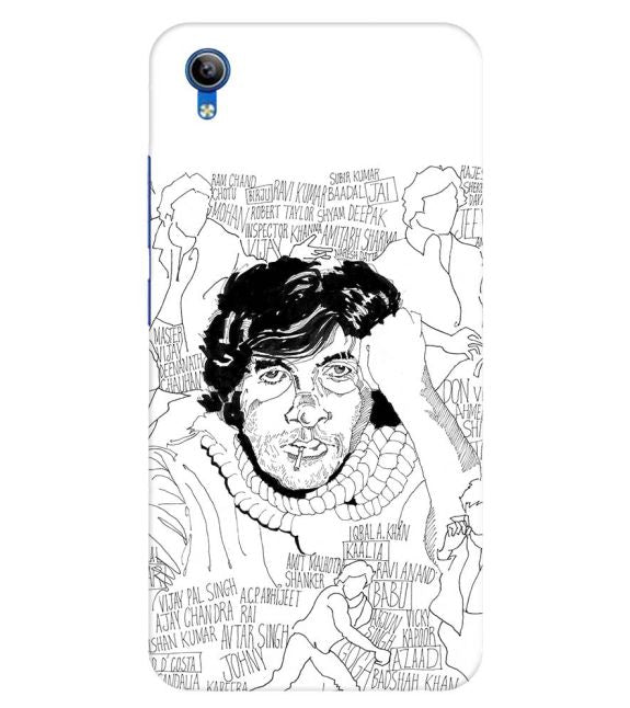 Indro's Art Big B Back Cover for Vivo Y91i