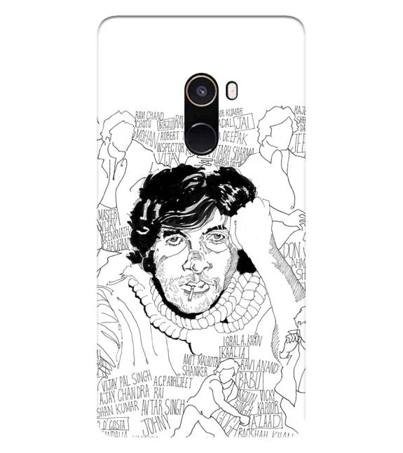 Indro's Art Big B Back Cover for Xiaomi Mix 2