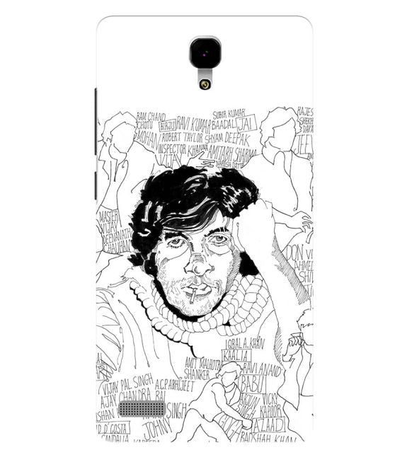 Indros Art Back Cover for Xiaomi Redmi Note 4G