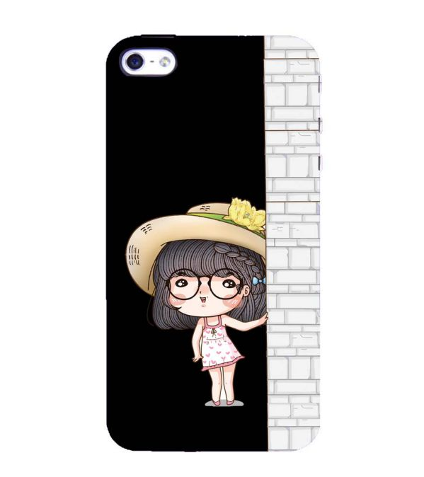 Innocent Girl Back Cover for Apple iPhone 4 : 4S