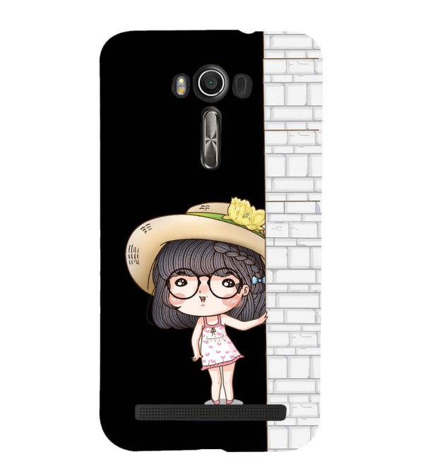 Innocent Girl Back Cover for Asus Zenfone 2 Laser ZE550KL