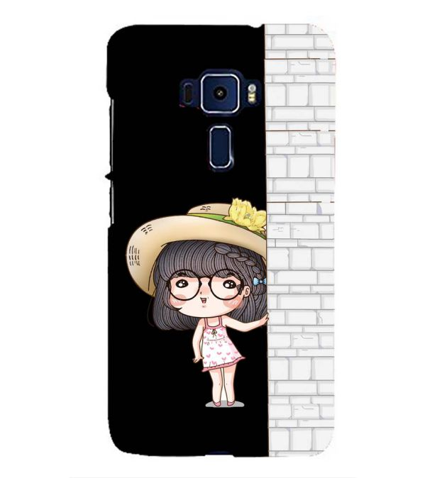 Innocent Girl Back Cover for Asus Zenfone 3 ZE552KL