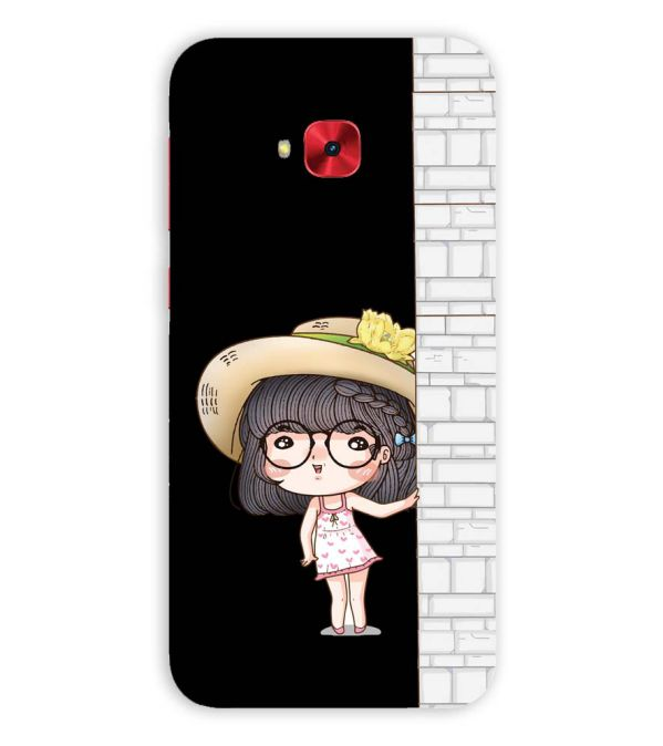 Innocent Girl Back Cover for Asus Zenfone 4 Selfie Pro ZD552KL
