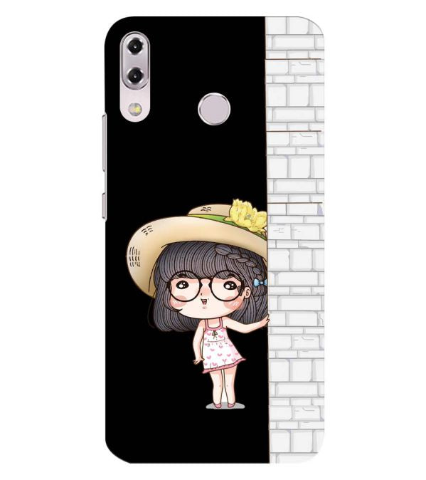 Innocent Girl Back Cover for Asus Zenfone 5z ZS620KL