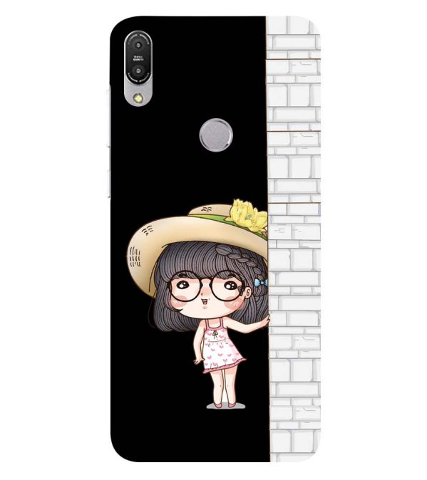 Innocent Girl Back Cover for Asus Zenfone Max Pro M1