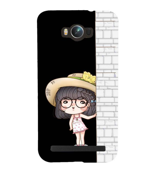 Innocent Girl Back Cover for Asus Zenfone Max ZC550KL