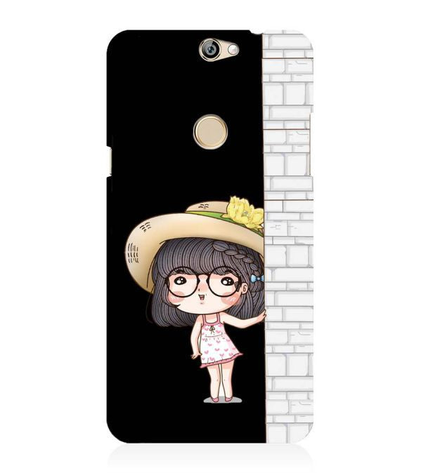 Innocent Girl Back Cover for Coolpad Max