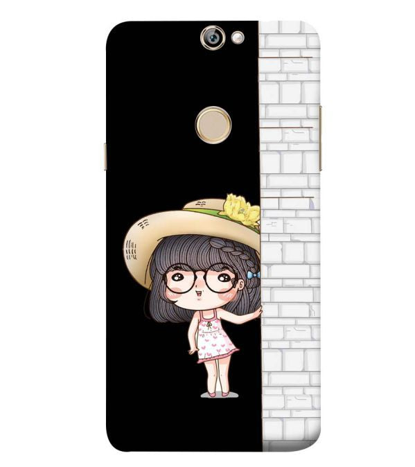 Innocent Girl Back Cover for Coolpad Max A8
