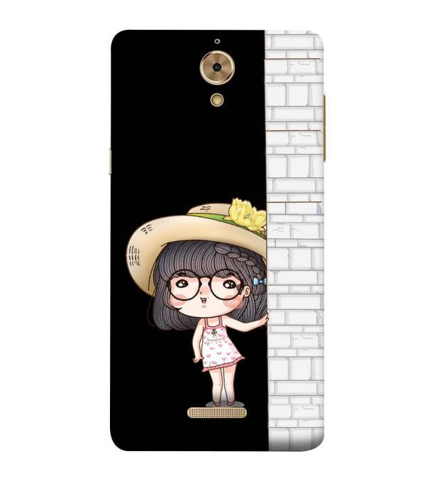 Innocent Girl Back Cover for Coolpad Mega 2.5D