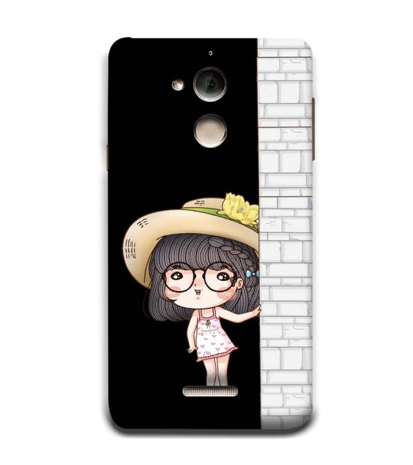 Innocent Girl Back Cover for Coolpad Note 5
