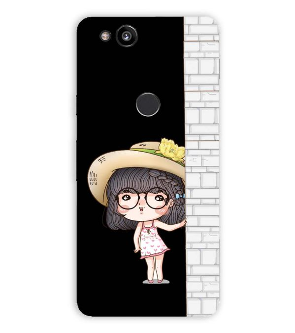 Innocent Girl Back Cover for Google Pixel 2 (5 Inch Screen)