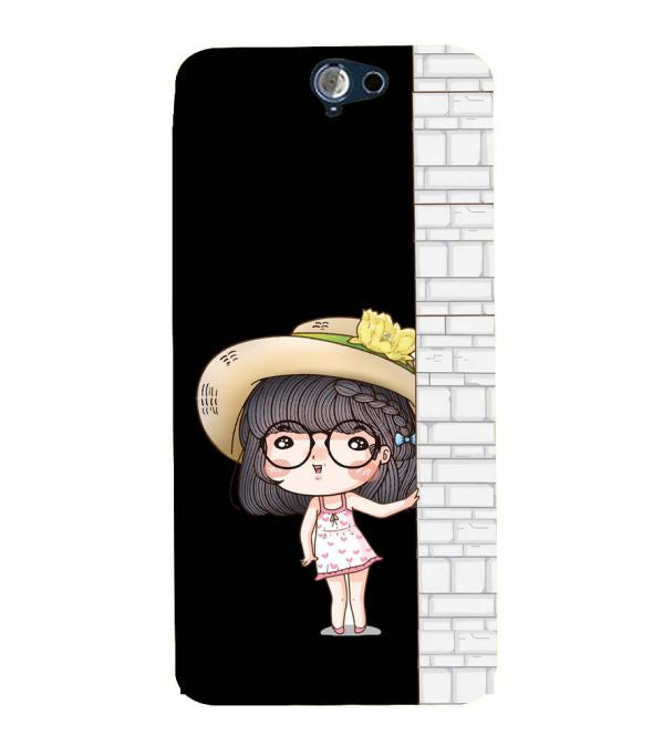 Innocent Girl Back Cover for HTC One A9