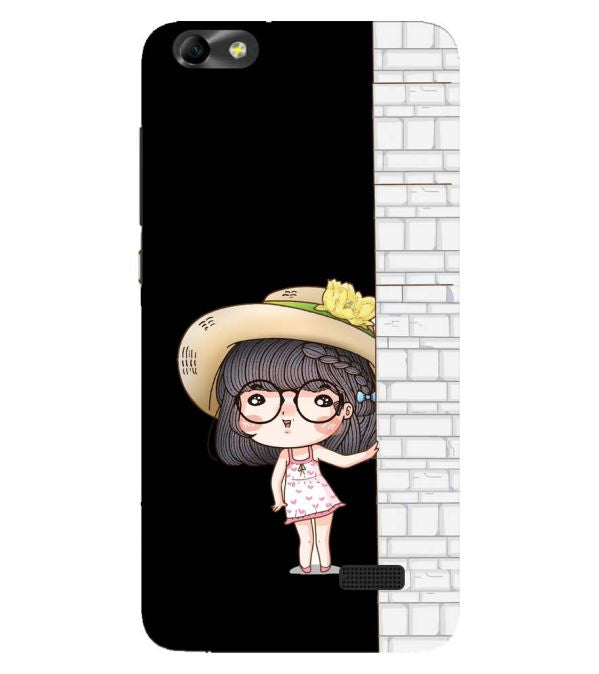 Innocent Girl Back Cover for Huawei Honor 4C