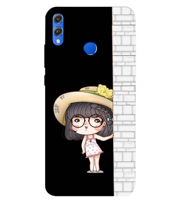 Innocent Girl Back Cover for Huawei Honor 8X