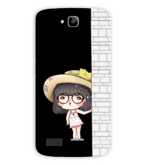 Innocent Girl Back Cover for Huawei Honor Holly